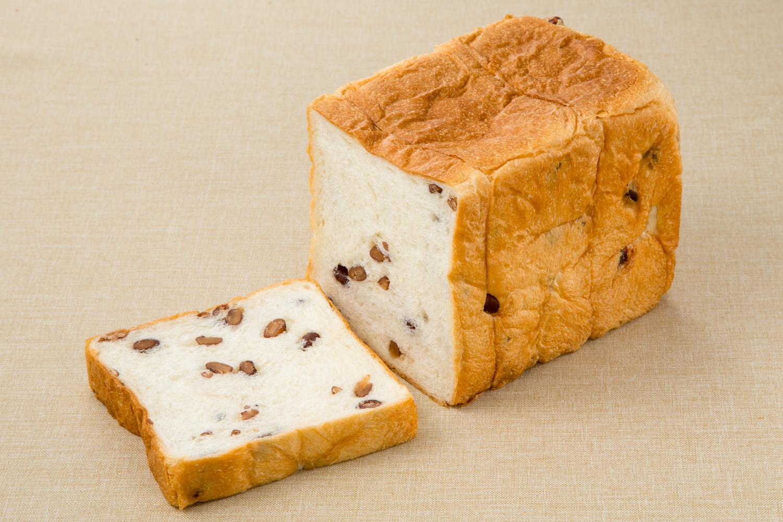 あずき食パンの写真