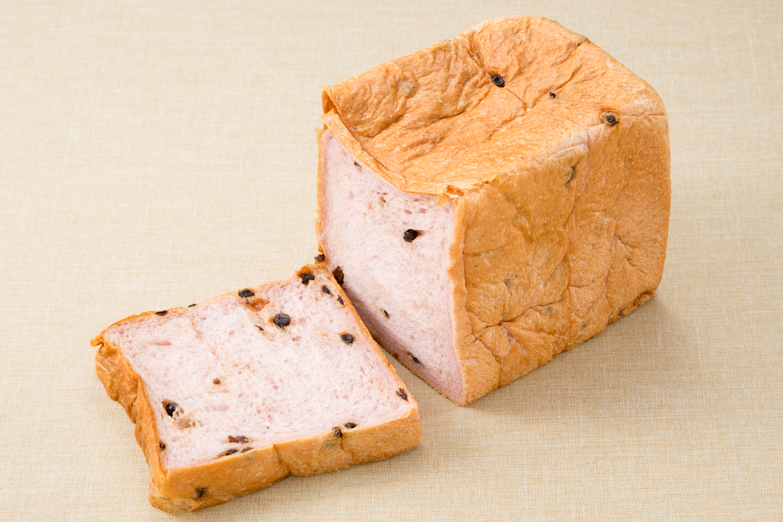 ブルーベリー食パンの写真