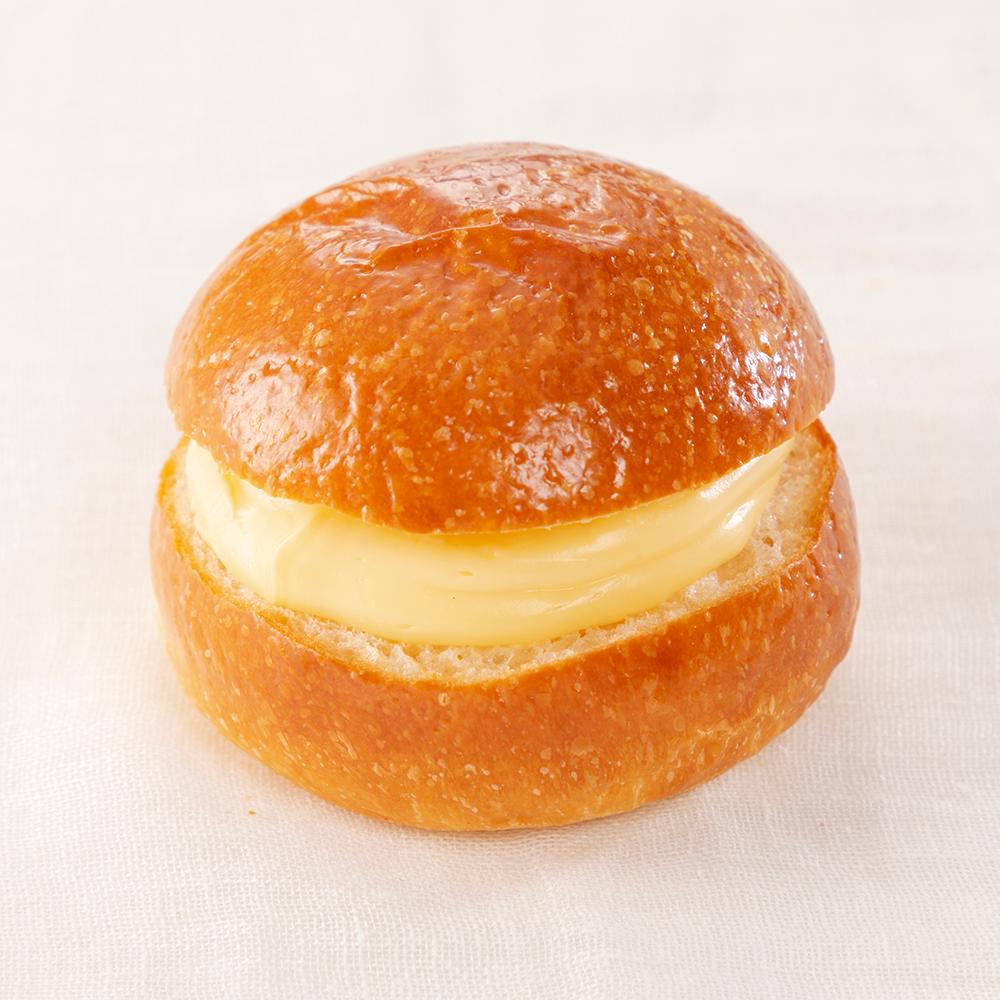 とろけるクリームパンの写真